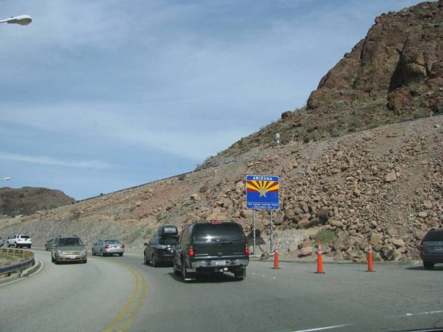 """""""Once I crossed the dam I was in Arizona."""""""