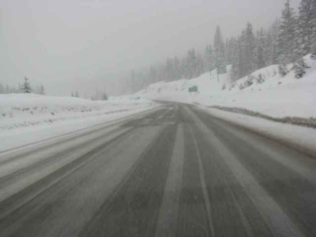 Coquihalla Highway - Heading home
