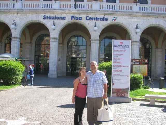 saying Goodbye to Pisa