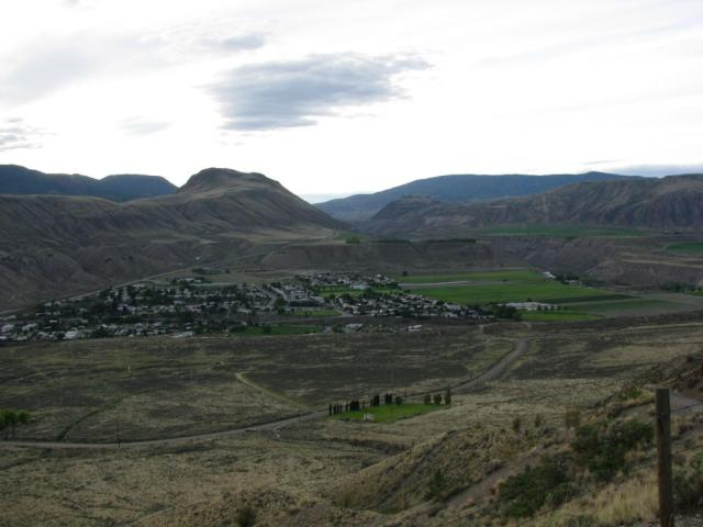 view of Ashcroft from the top
