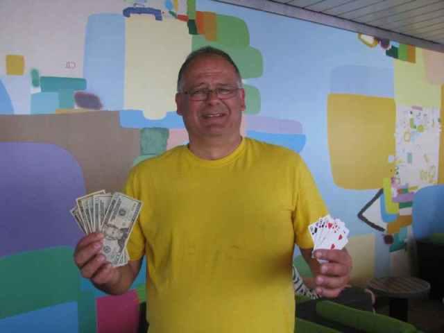 The winner of the Poker Run