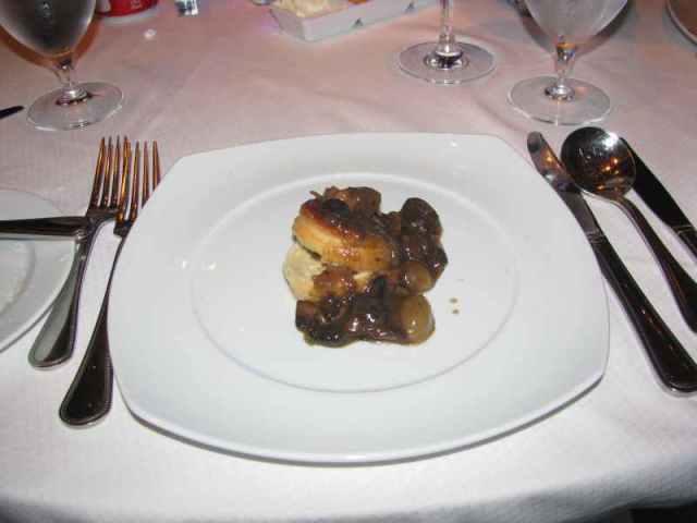 puff mushroom tart