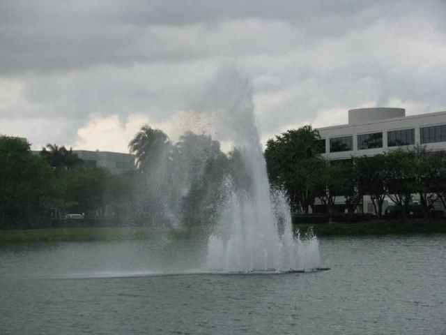 one of the fountains near a DNF we had