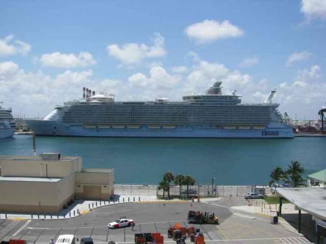 Allure of the Seas - world's biggest cruise ship