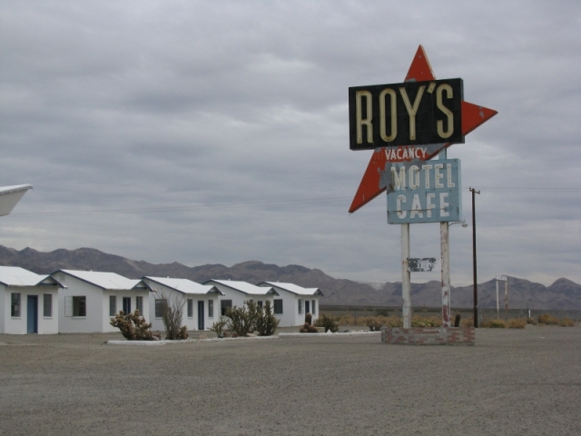Roy's Historic Sign