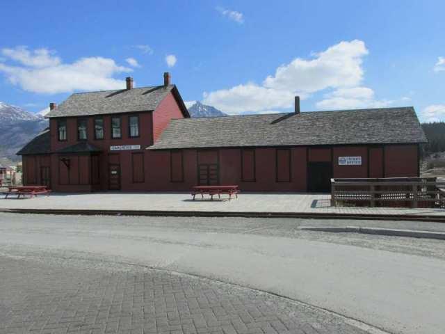 White Pass Train Station