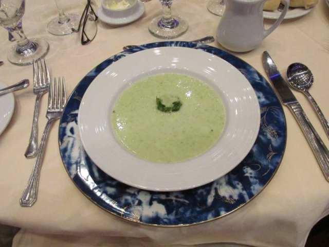 Tonight's Cucumber Soup