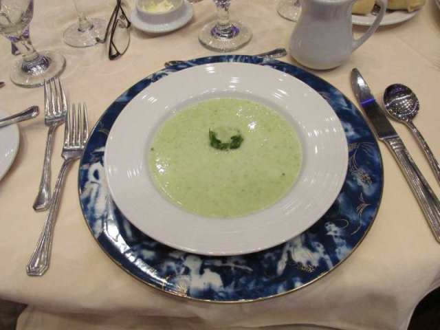 Tonight's Cucumber Soup
