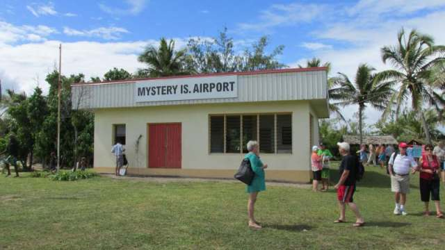 As it says the Mystery Island Terminal