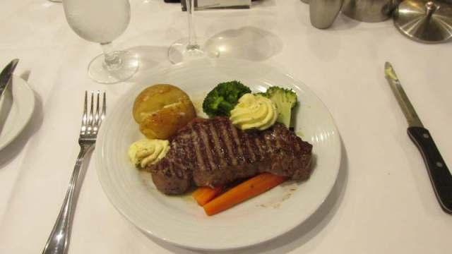 Steak non the menu.