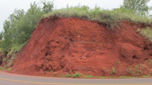 boy that is some red soil